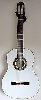 ORTEGA R121WH Full Size Classical Guitar with Fitted Ortega Padded Gigbag