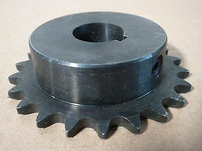 """Sprocket - #40 Chain 18 Tooth, 1 1/8"""" Bore With Key Way - New"""