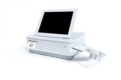 Star mPOP Tablet Stand, CASH Drawer - USB SCANNER and Printer WHITE  39650110