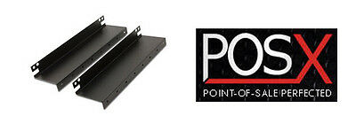"""ION-C18A-1MOUNT Under Counter Mounting Brackets for POS-X ION18"""" Cash Drawer"""