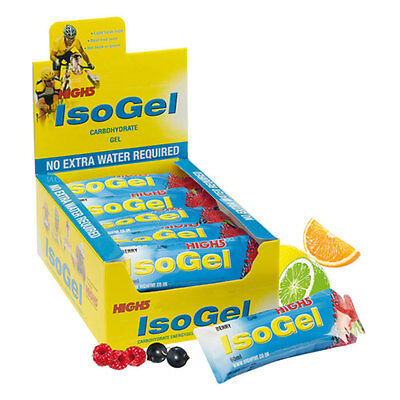 High 5 ISO Gel 25 x 60ml Gels - Berry