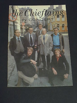 """""""The Chieftains In Concert""""  Programme 1978"""