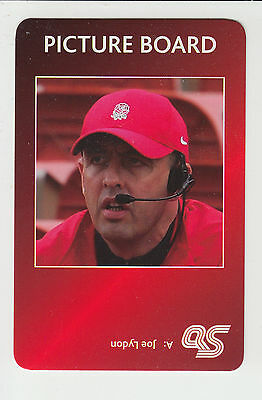 Rugby League : Joe Lydon : England : UK sports game card - red back