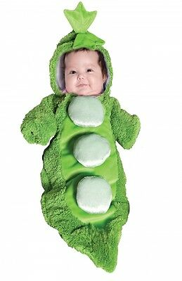 Baby girl boy unisex costume bunting Pea in a Pod 0 3 6 months mo  New NWT cozy