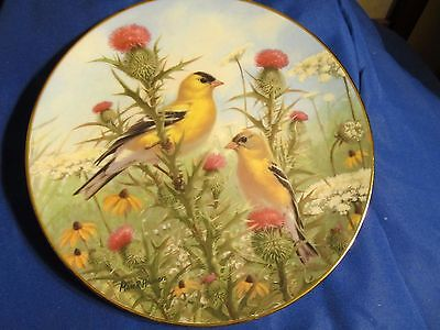 The Hamilton Collection 1994 Golden Glories Numbered Plate 2563A Marc Hanson