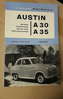 Austin A30 /A35 - P.Olyslager Motor Manual No.29/from 1951