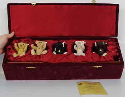 Steiff From Enesco A0639 'british Collectors Set 1989-1993'