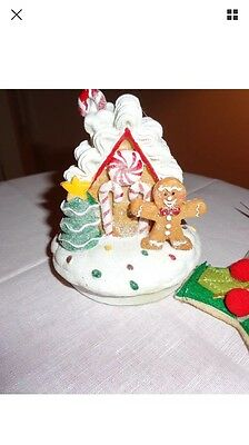 Yankee Candle Christmas Gingerbread Candle Toppers