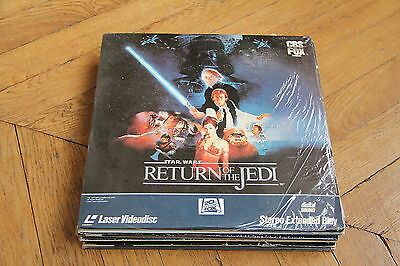 Star Wars: Edition Collector laserdisc ld PAL VF WS Harrison Ford, George Lucas