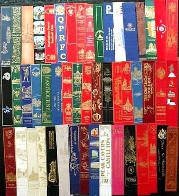 50 Collectors Leather Bookmarks
