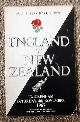 england v new zealand 4th november 1967