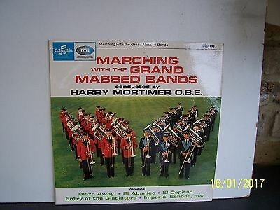 Harry Mortimer: Marching With The Grand Massed Bands    Scx 3520   Con  Ex