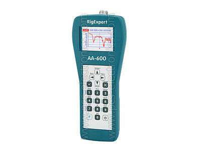 RigExpert AA-600 antenna analyzer, free express delivery, full warranty, invoice