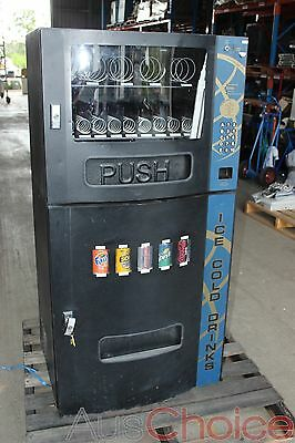 Seaga Elite Automatic Coin Operated Drink Snack Vending Machine - Issue