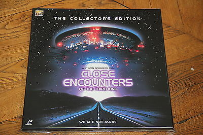 Close Encounters of the Third Kind: Collectors Edition (1980) Laserdisc Japan LD