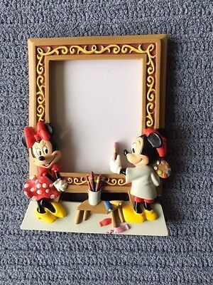 Disney Mickey and Minnie 3-D Artist Picture Frame