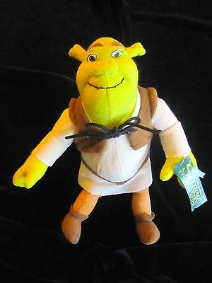 """Shrek  """"Forever After"""" Eight Inch Plush Dolls by Nanco new with tags"""