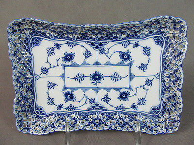 Royal Copenhagen BLUE FLUTED FULL LACE Tray for Sugar/Creamer 1122~~No Reserve