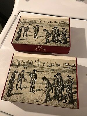 Vintage Golf balls Long Play  BOXES ONLY
