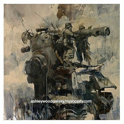 Ashley Wood - WAR FIXERS - Signed Limited Edition Print 3A