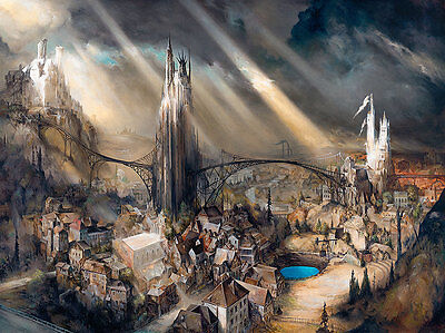 Esao Andrews - CLOISTERS - Signed and Numbered Print. Brand New, Limited Edition