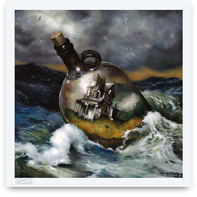 Esao Andrews - BOTTLE HOUSE - Signed and Numbered Limited Edition Print