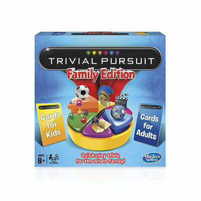 Trivial Pursuit Family Edition Board Game *Brand New*