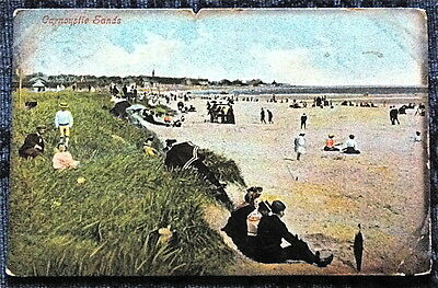 Carnoustie Sands Postcard Posted 1907