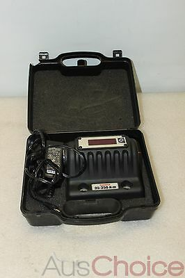 """Norbar TruCheck 35-350 N.m Torque Wrench Verification for 1/2"""" Sq Drive Unit"""