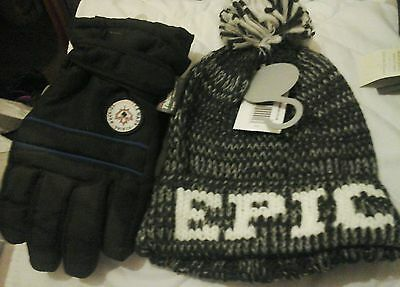 Boys Epic Hat And Thinsulated Glove Set Aged 3-6 Years