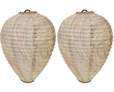 Roots & Shoots Large Paper Decoy Hanging Garden Wasp Nest