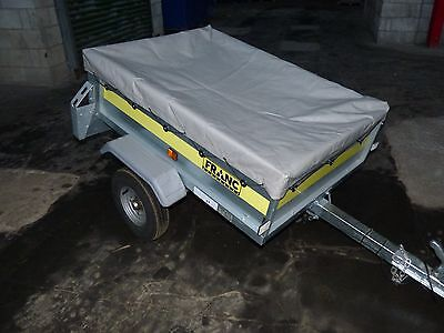 Galvanised Franc Camping Trailer with cover
