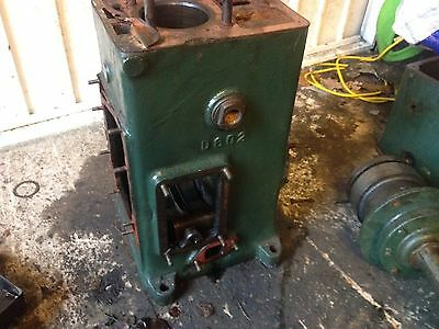 Lister D 18D2H 1936 Stationary Engine. Engine Block. Cylinder