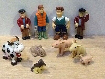 Farmers & Animals Small Bundle ~ Including Farmer Fi From Tractor Tom