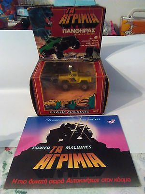 """VTG 1980's POWER MACHINES EL GRECO Toy """"PANTHER"""" Stomper 4X4 Never Used Rare"""