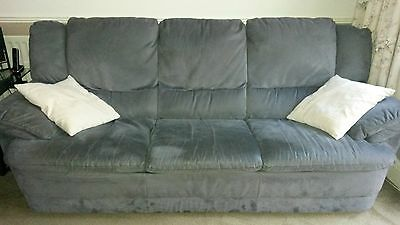 3 Piece Suite - {2 of which recliner armchairs}