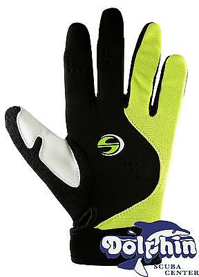 Deep See Scuba Diving 2mm Sport Gloves - Yellow - Large