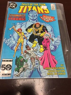 Tales Of The Teen Titans #56 Dc 1985