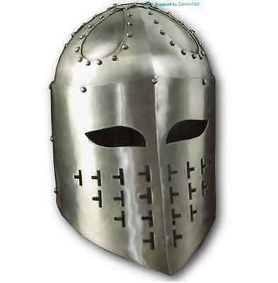 Replica Medieval Spangenhelm Helmet For Display, Re-enactment And LARP