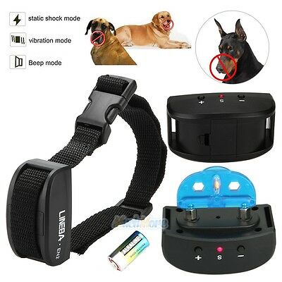 7 Level Electronic Anti No Bark Control Collar Automatic for 1-2 Dogs Training