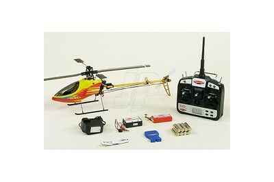 Professional TWISTER 2.4G CP GOLD (RTF) 6ch RC Remote Radio Control Helicopter