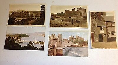 Old Postcards - Conway Castle