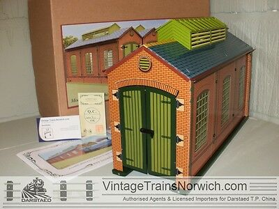 """DARSTAED ES-1 Engine-Shed """"Hornby Inspired"""" with Lighting BRAND NEW STOCK !"""