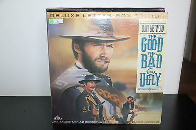 The GOOD, BAD & UGLY (1966) LASERDISC NTSC DELUXE LETTERBOX EDITION LD Eastwood