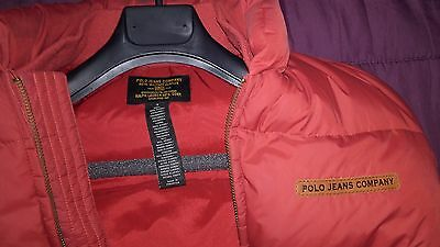 Ralph Lauren Polo Jeans Company Chaleco Edición Special Red. Talla XS-S UNISEX
