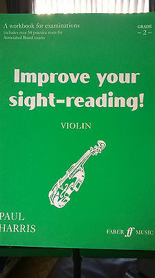 IMPROVE YOUR SIGHT-READING by PAUL HARRIS for VIOLIN GRADE 2
