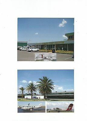 Australia New South Wales   Airports  4 Postcards