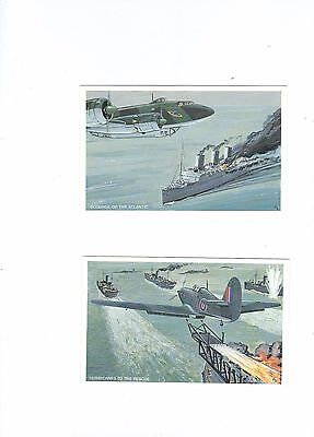 The Battle Of The Alantic A Set Of 6 Postcards