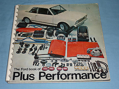 The Ford Book Of Plus Performance - Ford Cortina Parts Catalogue (1968?)