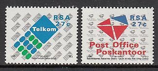 Africa del Sur Yvert Correo 740/1 ** Mnh
